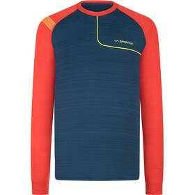 La Sportiva Tour Koszulka z długim rękawem Mężczyźni, opal/poppy